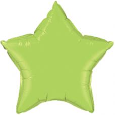 Balón Hviezda Limetková Zelená 45 cm