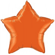 Balón Hviezda Oranžová 45 cm