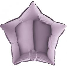 Balón hviezda Fialová Lila 45 cm