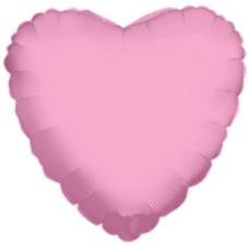 Balón Srdce 45 cm Ružové