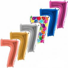 Balón narodeninový číslo 7 maxi