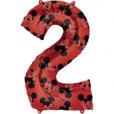 Balón číslo 2 Mickey maxi