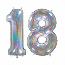 Narodeninový balón číslo 18  veľké