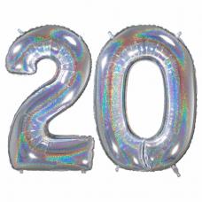 Narodeninový balón číslo 20 veľké