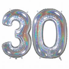 Narodeninový balón číslo 30 veľké