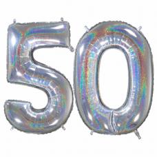 Narodeninový balón číslo 50 veľké