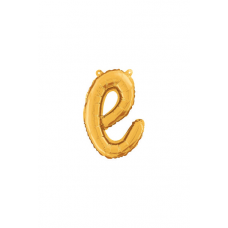 Písmeno malé zlaté E script