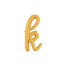 Písmeno malé zlaté K script