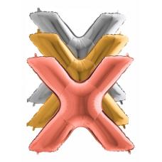 Balón Písmeno X maxi