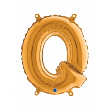 Balón Písmeno Q malé