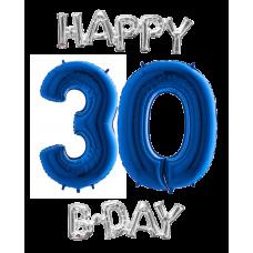 Balóny Set narodeniny 30