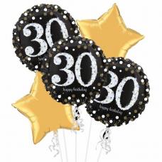Balónová kytica narodeniny 30