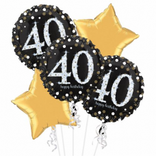 Balónová kytica narodeniny 40