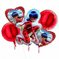 Balónová kytica Čarovná Lienka