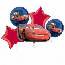 Balónová kytica Cars - Mc Queen