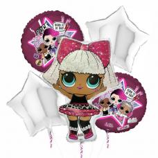 Balónový set LOL Diva