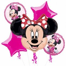 Kytica z balónov Minnie Mouse