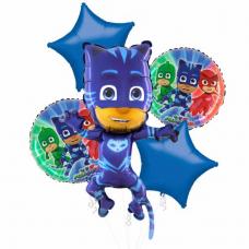 Balónová kytica PJ Masks Cat Boy