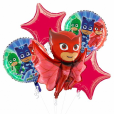 Balónová kytica PJ Masks Owlette