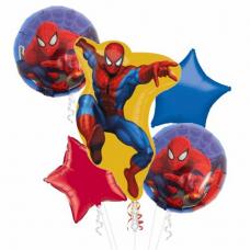 Kytica z balónov Spiderman