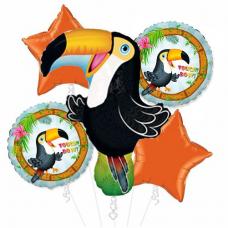Kytica z balónov Tukan