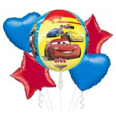 Balónová kytica Cars