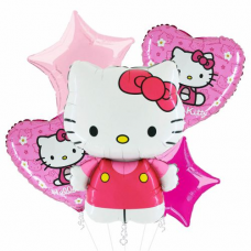Kytica z balónov Hello Kitty