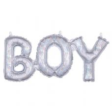 Balónový banner BOY