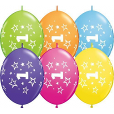 Balón naväzovací číslo 1 Qlink Stars