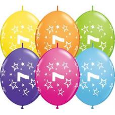 Balón naväzovací Q číslo 7 Qlink Stars
