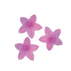 Oplátkový kvet mini fialový