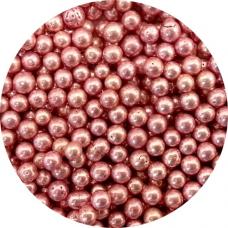 Cukrové perly ružové 50g