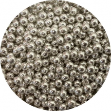 Cukrové perly strieborné malé 50g