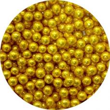 Cukrové perly zlaté veľké 50g