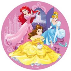 Jedlá oplátka Princezné 20 cm