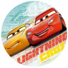 Jedlý obrázok Cars 20 cm