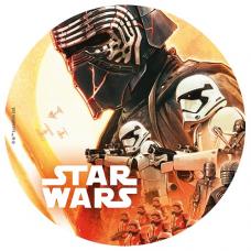 Jedlý obrázok Star Wars 20 cm