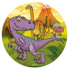 Jedlý obrázok Dinosaury 20 cm