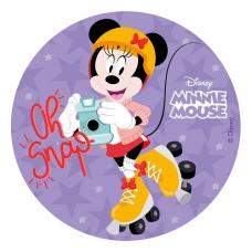 Jedlá oplátka Minnie Mouse 20 cm
