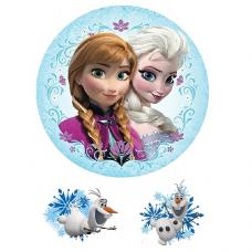 Jedlý obrázok Frozen
