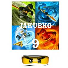 Jedlý obrázok Lego Ninjago