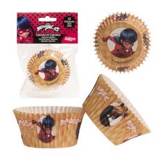 Papierové košíčky na muffiny Čarovná Lienka 25 ks