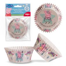 Papierové košíčky na muffiny Pepa Pig 25 ks