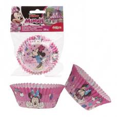 Papierové košíčky na muffiny Minnie Mouse 25 ks