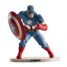 Postavička na tortu Kapitán Amerika