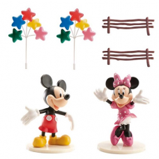 Dekorácia na tortu Mickey a Minnie