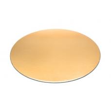 Podnos zlatý hrubý 36 cm
