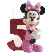Tortová sviečka Minnie Mouse číslo 5