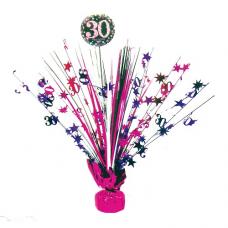 Dekorácia na stôl 30 ružová
