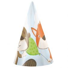 Párty klobúky Líška a Bobor